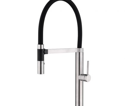 Spin Pull Down Sink Mixer (Brushed Nickel)