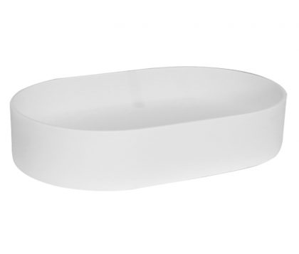 Lusini Solid Surface Basin 580mm