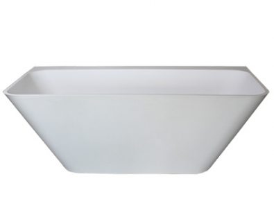 Evolve Solid Surface Freestanding Bath 1500mm>