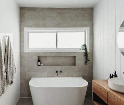 EDEN Freestanding Bath 1500mm - Lifestyle Image
