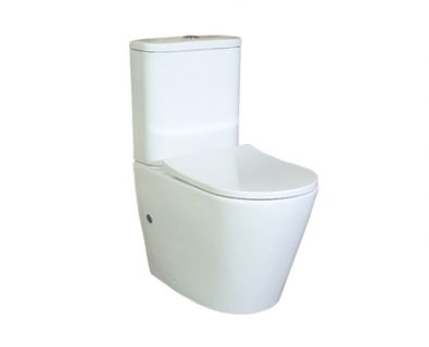 Ollie Rimless Wall Faced Toilet Suite>