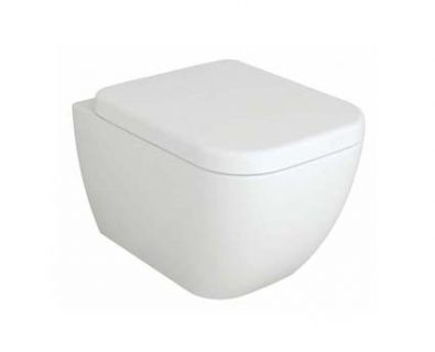 Kubica Wall Hung Pan Toilet>