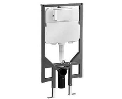 Pneumatic In Wall Cistern with Wall Bracket>
