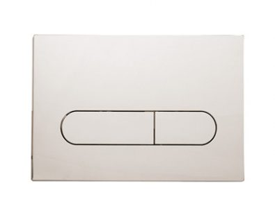 Push Plate for Pneumatic Cistern (Brushed Nickel)>