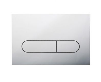 Push Plate for Pneumatic Cistern (Chrome)>