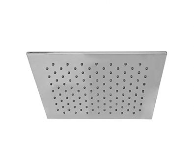 Monsoon Square Slim Shower Head (300mm)>