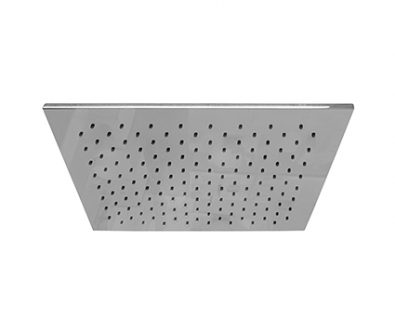 Monsoon Square Slim Shower Head (400mm)>