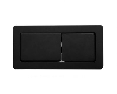 Rectangle Cistern Button (Matte Black)>