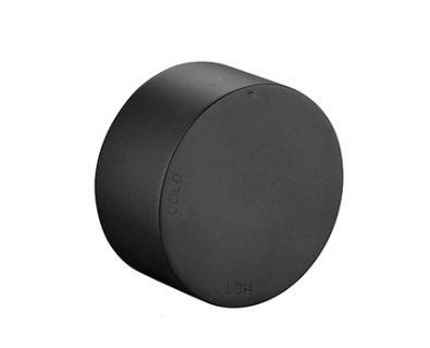 Spin Nero Round Progressive Wall Mixer (Matte Black)>