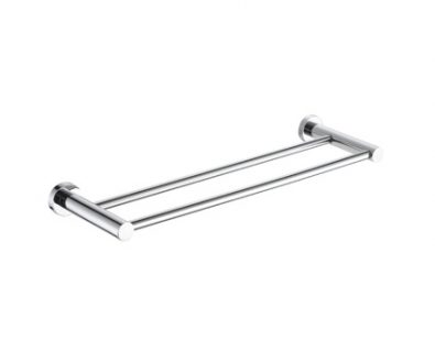 Spin Double Towel Rail 600mm>