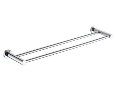 Spin Double Towel Rail 750mm>