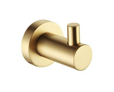 Spin Robe Hook (Brushed Brass)>