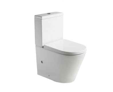 Spin Rimless Wall Faced Toilet Suite>