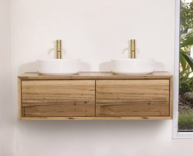 Jones & Jones Wall Hung Timber Vanity 1200mm>