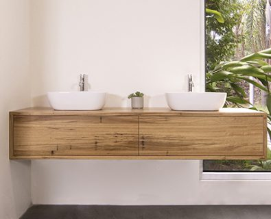 Jones & Jones Wall Hung Timber Vanity 1800mm>