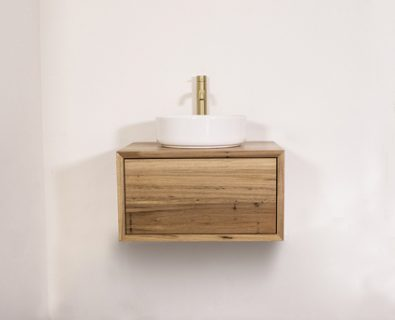 Jones & Jones Wall Hung Timber Vanity 600mm>