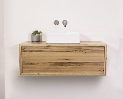 Jones & Jones Wall Hung Timber Vanity 900mm>