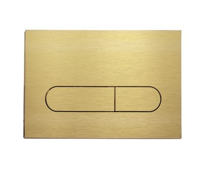 Brushed Brass Push Plate