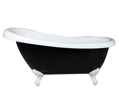 Lawson Clawfoot Bath 1570mm (Black)>