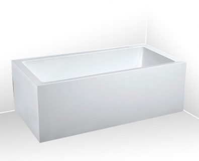 Lugo Corner Freestanding Bath 1500mm (LHS)>