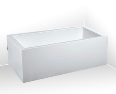 Lugo Corner Freestanding Bath 1650mm (LHS)>