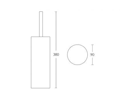 Spin Toilet Brush Holder Tech