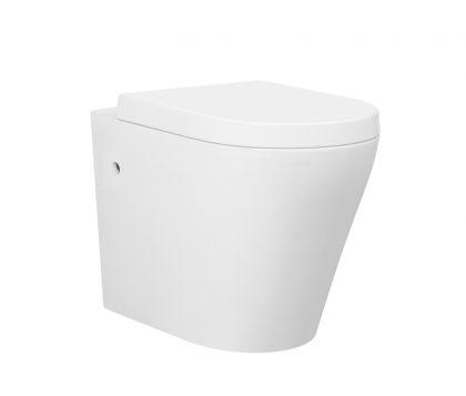 Ollie Rimless Floor Pan Toilet