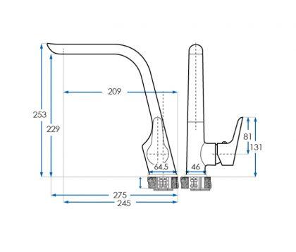 Eden Sink Mixer Tech