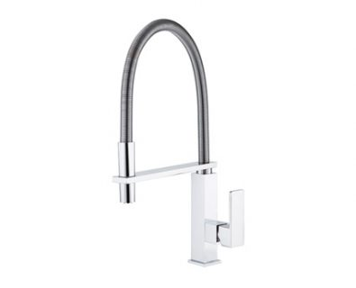 Chevron Pull Down Sink Mixer (Chrome)>