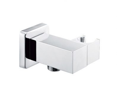 Quadra Wall Elbow with Hand Shower Bracket>