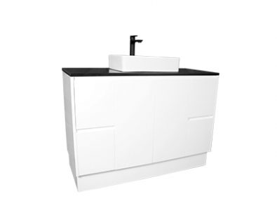Lyra Floor Mount Vanity 1200mm>