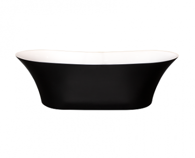 Delano Freestanding Bath 1800mm (Matte Black)>