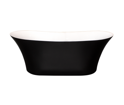Delano Freestanding Bath 1800mm (Matte Black)