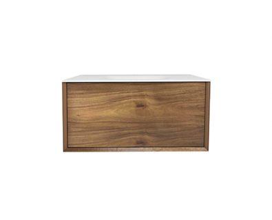 BARCLAY Acacia Timber Wall Hung Vanity 900mm>