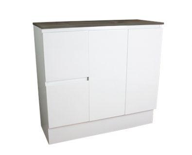 Essence Floor Mount Vanity Cabinet 900mm>