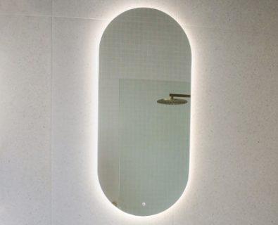 Reflekta LED Oval Pencil Edge Mirror 1000x450mm>