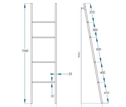 Spin Towel Ladder Tech
