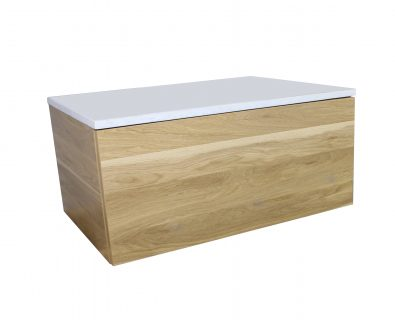 Eden Timber Wall Mount Vanity Cabinet 750mm>