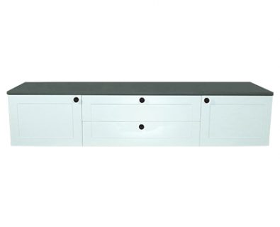 Oliver Wall Hung Vanity Cabinet 1800mm (Matte White)>