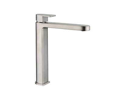 Ollie Tall Basin Mixer (Brushed Nickel)>