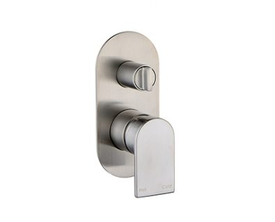 Ollie In Wall Mixer with Diverter (Brushed Nickel)>