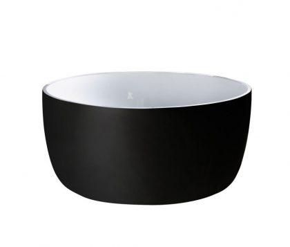Rotondo Freestanding Bath 1360mm (Matte Black)