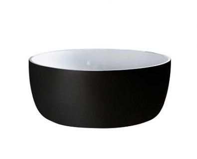Rotondo Freestanding Bath 1360mm (Matte Black)>