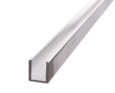 Aluminium U-Channel 2100mm>