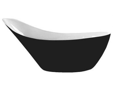Coco Freestanding Bath 2000mm (Matte Black)>