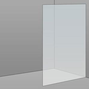 1000mm Frameless Glass Panel