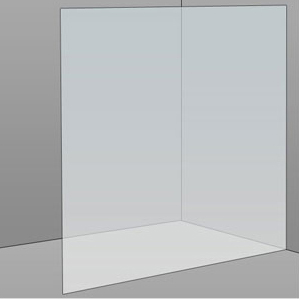 1500mm Frameless Glass Panel