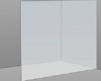 1500mm Frameless Glass Panel>