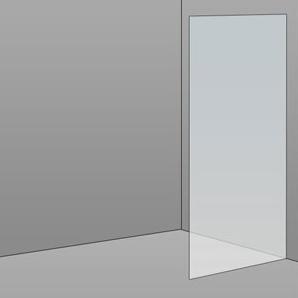 700mm Frameless Glass Panel