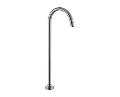 Spin Freestanding Bath Spout (Brushed Nickel)>